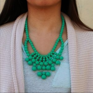 Greenish/turquoise necklace
